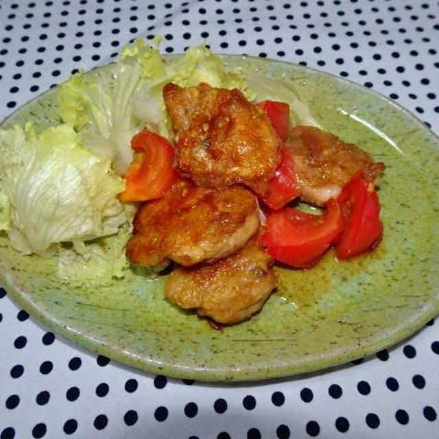 ★さっぱり鶏もも肉のトマト煮★