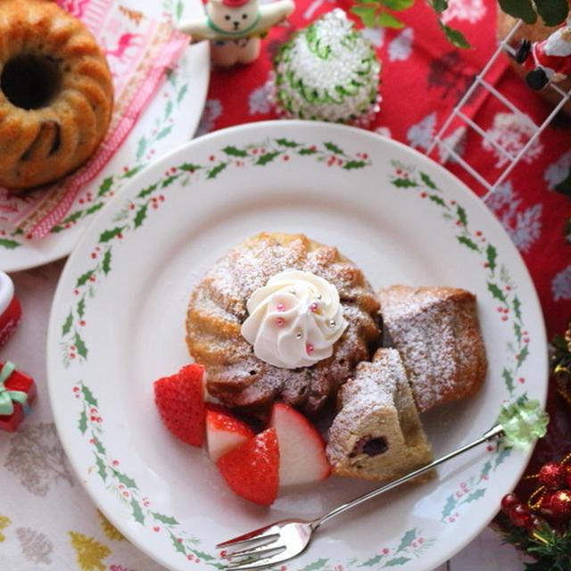 ミニクグロフ☆2017年のクリスマスケーキ