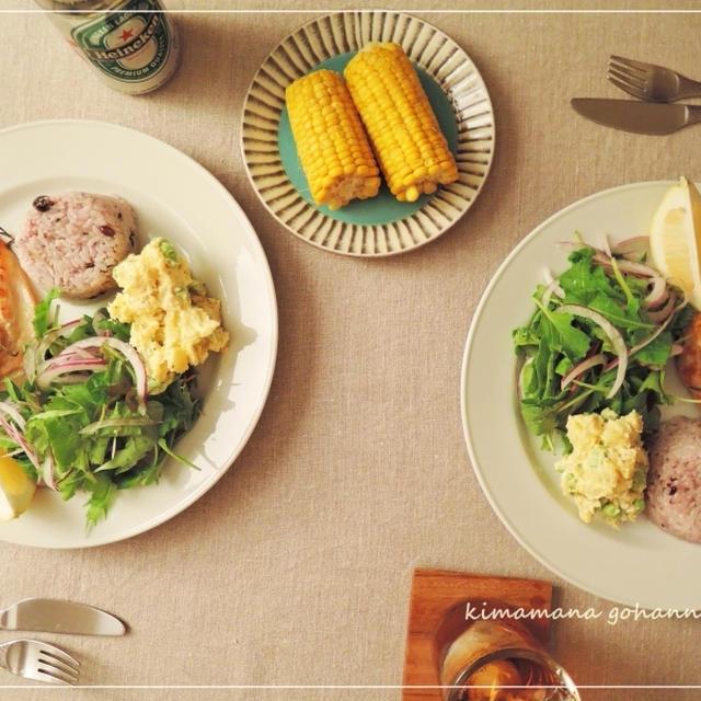 鶏胸肉とローズマリービネガー漬け。
