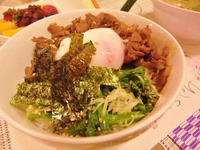 菊芋★牛丼