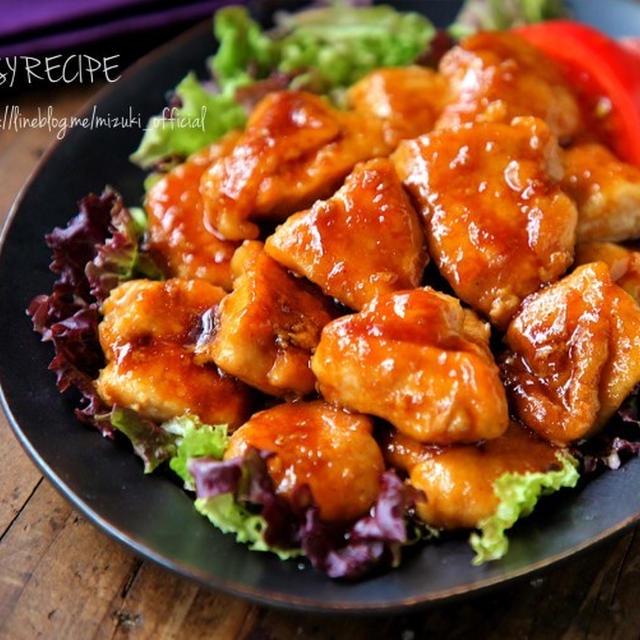 ♡簡単・時短・節約♡鶏むね肉deガリバタチキン♡【#鶏肉#コスパ#レシピ】