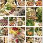 お花とチーズと野菜のコラボ・素敵なクリスマスパーティー
