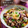 ♡豚肉となすの和風おろし♡【#簡単レシピ #時短 #節約 #煮物】