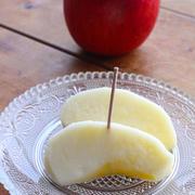 りんごが苦手な娘がおいしいと食べたりんご
