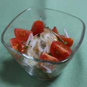 ペパーミント風味のオニオンサラダ