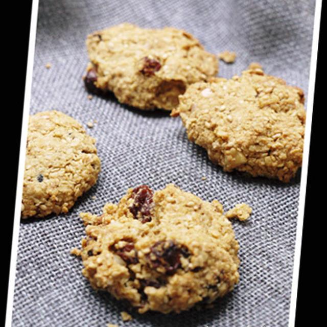 マクロのお菓子 ザクザクッキー。