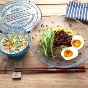 【簡単】【オススメ】ピリ辛担々麺風♡冷やし豆乳つけ麺