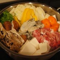 【牡蠣と豚肉のカレー鍋 (レシピ)】