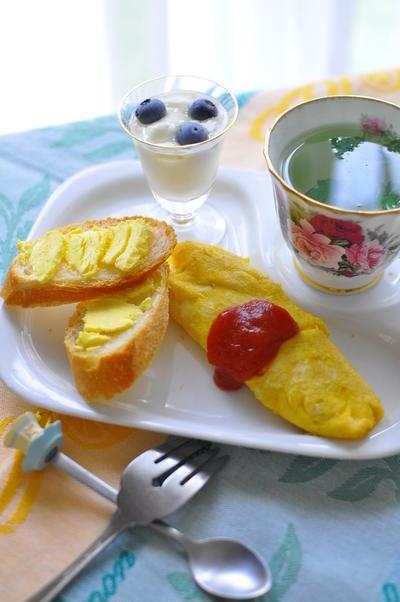 朝ごはんにはトロピカルバター