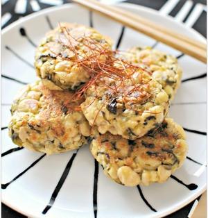 高菜チーズのおつまみ大豆おやき