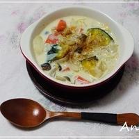 ☆たっぷり野菜ときのこの豆乳スープ☆