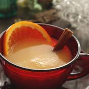 ストラスブールの温かい林檎ジュース