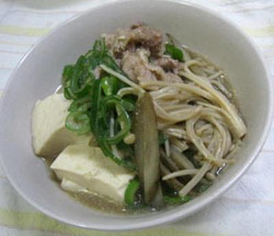 豚肉と豆腐の煮物
