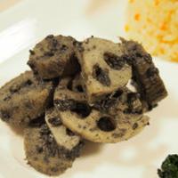 おうちDELI♡根菜の黒ごまクリーム和え
