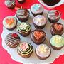 簡単かわいいバレンタインデコチョコマフィン♪グルテンフリーお菓子