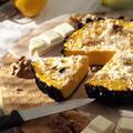 シナモンとホワイトチョコのかぼちゃチーズケーキ