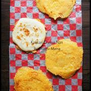 [捏ねない!発酵なし!] フライパンでカリカリ☆チーズナン