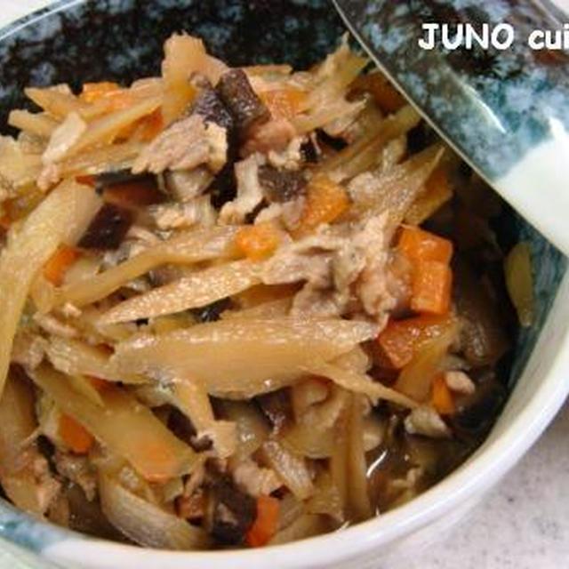 ☆ゴボウと豚肉の生姜煮☆