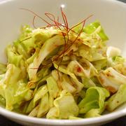 キャベツの韓国風サラダ