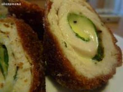 鶏ささみの大葉・チーズまきまきフライ☆残り野菜で簡単お手軽キッシュ風の晩ご飯