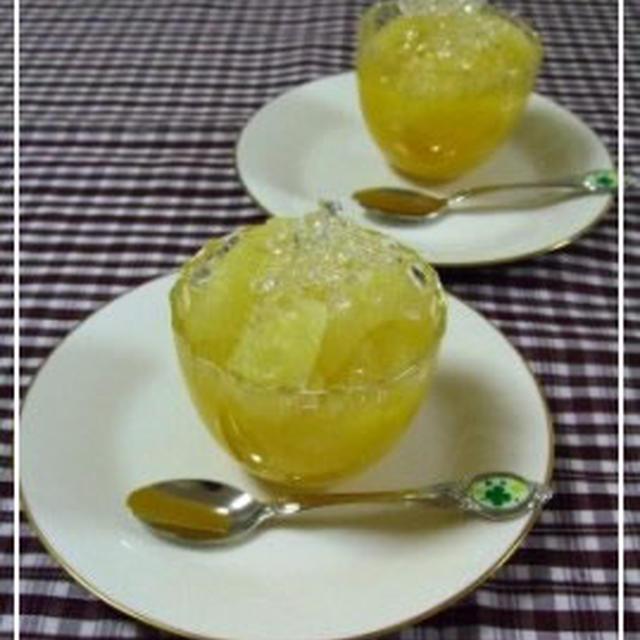 果実いっぱい☆グレープフルーツゼリー