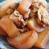 【簡単!炊飯器調理】しみじみ美味しい♪大根と豚バラのこっくりうま煮