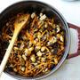 ストウブ鍋で作るひじきの煮物