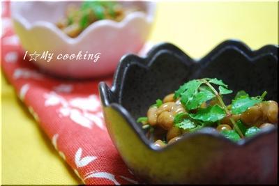 山椒納豆小鉢