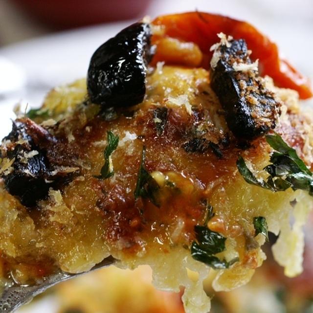 【お誕生日メニューP-1】竹の子ご飯/トロカレイのガーリックチーズ焼き(黒ニンニクバージョン)