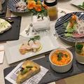 おもてなしは洋食で・・ジャガイモとグリーンアスパラのキッシュなど by pentaさん