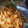 炒めない!焼肉のタレで!豚肉とメンマ入りキムチ炒飯