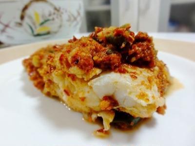 レシピ・これからが美味しい季節、鱈のヤンニョムチム(蒸し物)