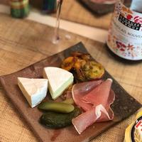 プレジデントチーズとボジョレーを楽しむ♪和モダンな食卓☆
