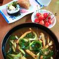 カレーうどん ~ カレーライスのカレーにお出汁をきかせ簡単♪ おいしい♪ by mayumiたんさん