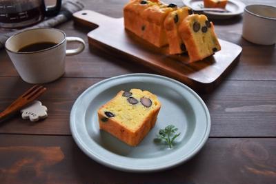 【おせちリメイク】黒豆と栗きんとんの和風パウンドケーキ