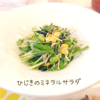 ひじきのミネラルサラダ