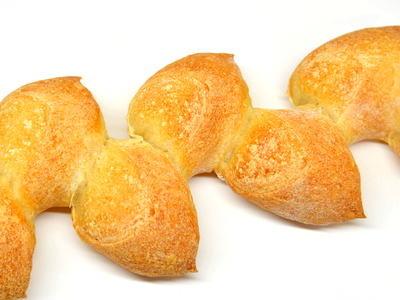 麦の穂の形をしたフランスパン(エピ)