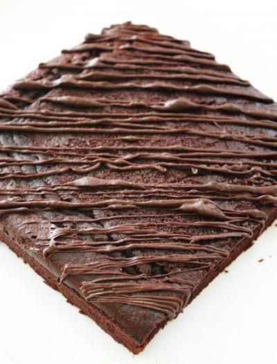 恋するベーカリーのチョコファッジケーキ