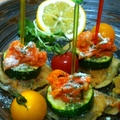 モニター♪秋刀魚のフリッターとマヨキムチのイタリアンピンチョス♪ by ささっちさん