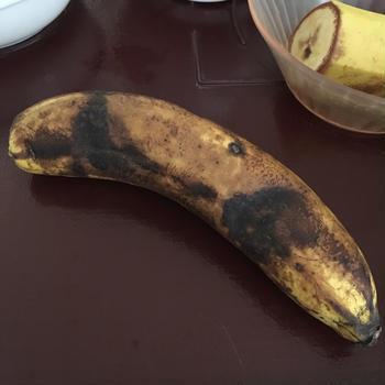 バナナの香りに包まれて