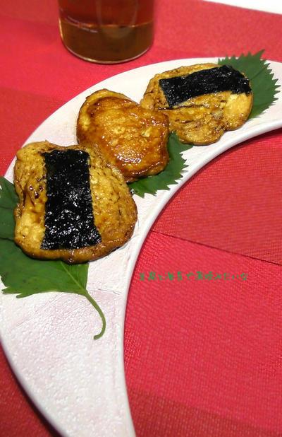 蒲焼のタレが余ったら♪豆腐と海苔で蒲焼風?