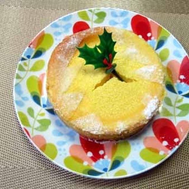 濃厚・爽やか☆レモン風味のパンプキンチーズケーキ