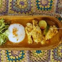セネガル料理 チキンマフェ。