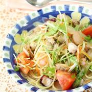 ラクラク簡単♪フライパンひとつで作れる「スープパスタ」
