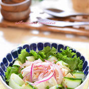 お豆腐のアジアン風サラダ