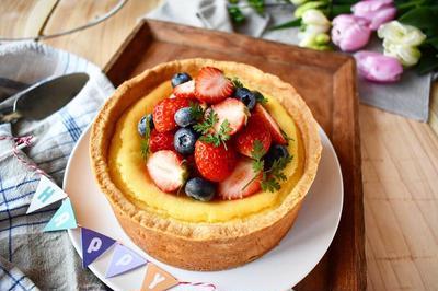 【チーズケーキタルトでお誕生日】#タルト #チーズケーキ #誕生日