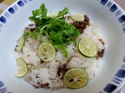 牛肉ちらし寿司の作り方。 ビーフ混ぜご飯のレシピ