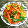 お弁当の隙間にも♡味付け簡単!たたきキュウリの中華サラダ