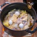 staub鍋で作る「白菜と豚肉のぽったり煮」&牛丼屋さん松屋のおまけ