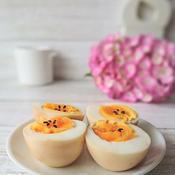 にんにく醤油味付き卵